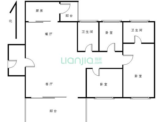 业主诚意出售,景湖时代城3房 看房方便 保养好