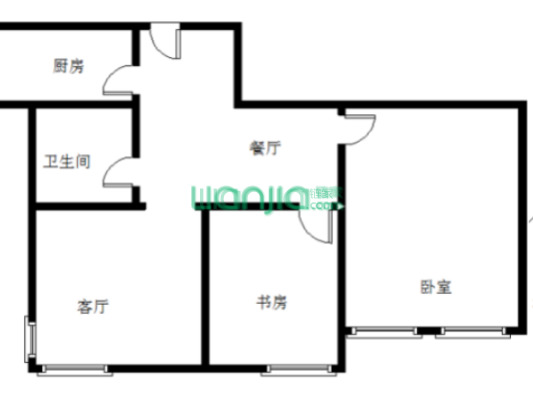 蔚蓝公寓 3室1厅 603万