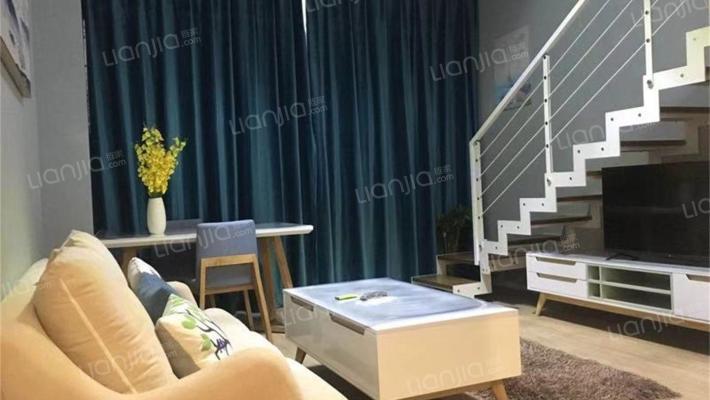 未来科技城 CBD 精装公寓 上下两层 诚心出售。
