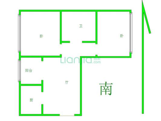 江山赋正规两居室,带电梯,诚意出售,房本满五年