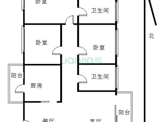 水榭兰亭 3室2厅 158万