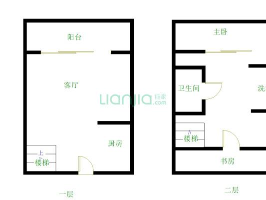 茶山地铁口物业,精装修2房,30平双层复式,交通便利