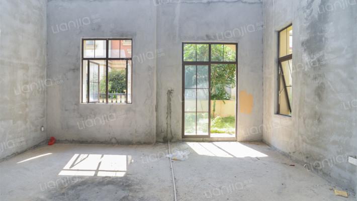 利丰中 央 公园,独栋美墅,毛坯6房, 带地下室+花园