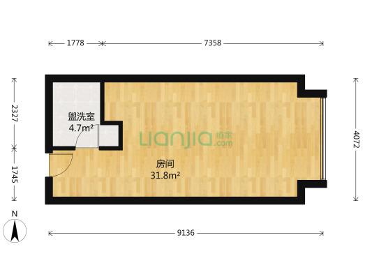 高新区 两江国际 开发商统一精装 带分户空调