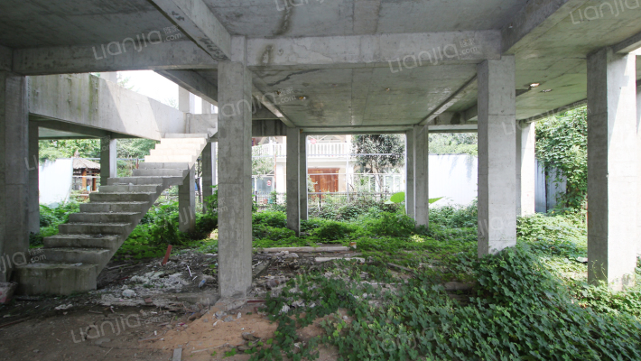 独栋别墅 有花园 有车库 清水框架易装修