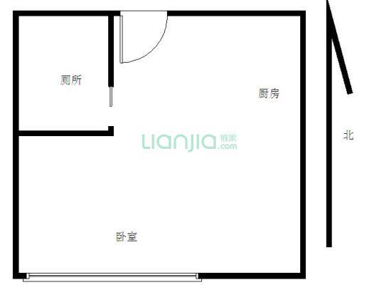 虎门万达广场公寓 1房1厅,拎包入住,