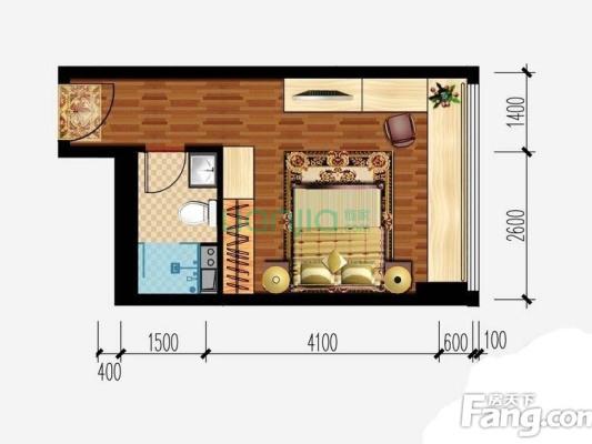 下楼是D铁口!带三年租约1500!看中房子价格可商量