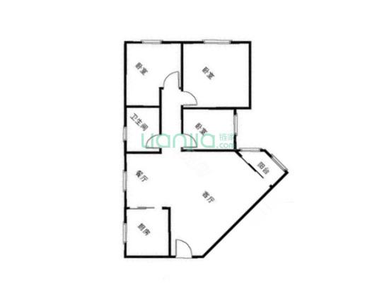 江汉路精装三房 中高楼层 三面采光 产证满二税费低