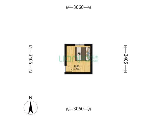 常州里 1室0厅 10.07平米