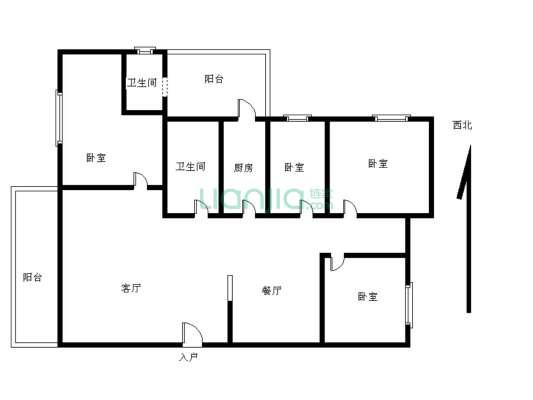 又一居4房,3楼,保养好,安静