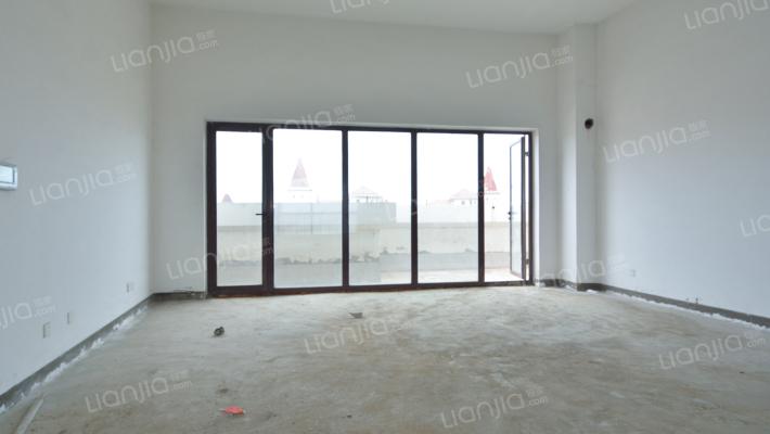 星海湾顶层复式,6室3厅,客厅挑空,两个超大外景阳台