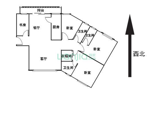 业主诚心出售雍华庭大三房实用面积大刚需客户必看好房