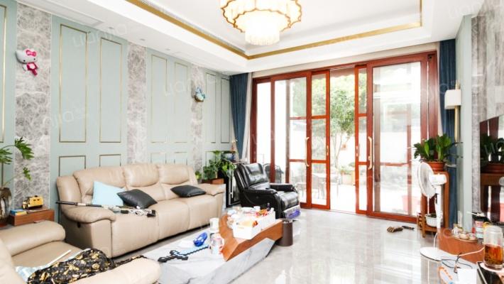 中堂别墅  300多万奢华装修  自家园林