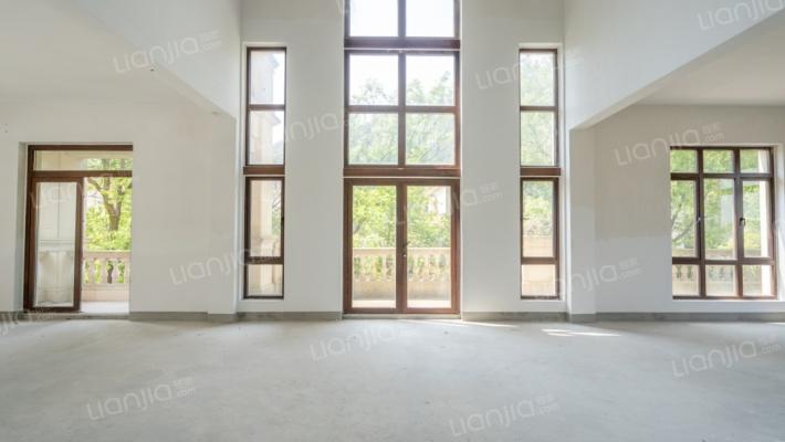 东钱湖纯独栋别墅,低总价,全石材干挂,花园面积大