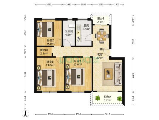 金顺家园房子单价低刚需可选小区看房随时预约
