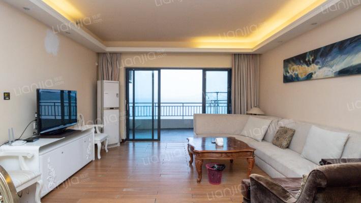 超大阳台,人生后花园,视野开阔一线海景