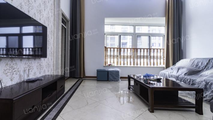 超大电梯高层复式,品牌精装修,拎包入住,空中别墅!