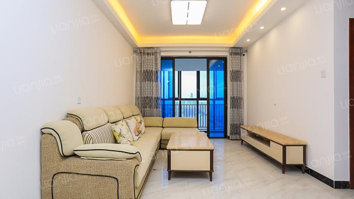 紫微银座 精装 95平 3房2厅2卫 朝南