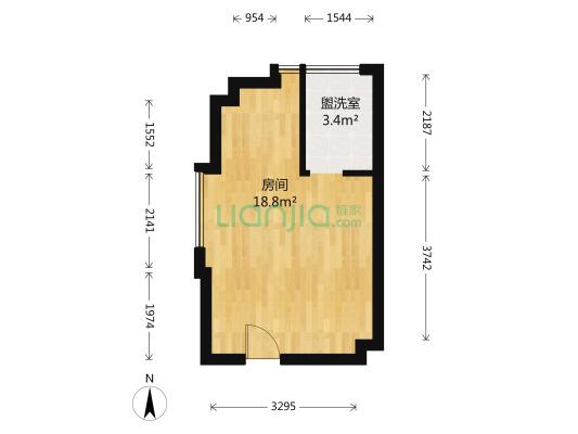 翔安南部CBD 菁英公馆 4.2米 双面采光,格局佳