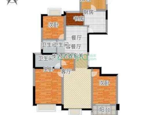 家装带地暖,实用面积大,小区的绿化如小区名,