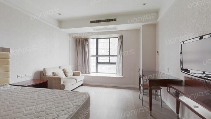 小户型精装一房公寓,朝南户型,楼层高,视线开阔
