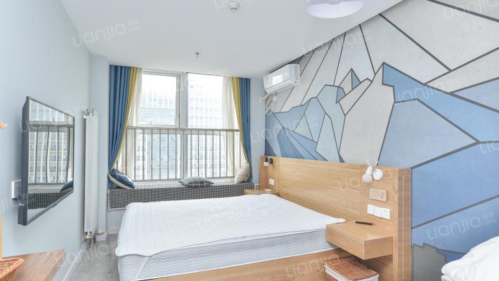 三庆青年城一室一厅一卫精装公寓拎包入住