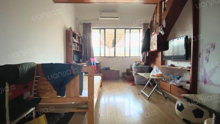 70年产权公寓 上下两层复式 中等装修 拎包入住