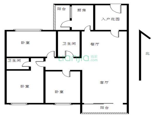 碧桂园新楼盘 去年刚刚交楼 高档装修 中间楼层 采光