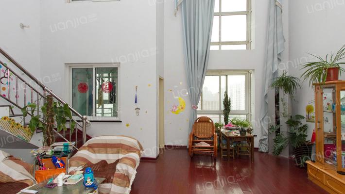 亿安花园 首付80万 精品五房一个家 六米舒适挑空复式