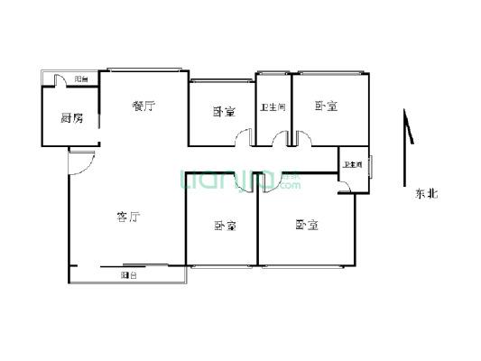诚意出售 全能型4房,楼层好, 采光足