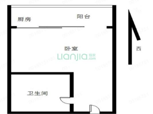光大山湖城 精装单身公寓出售,中间楼层价格合理