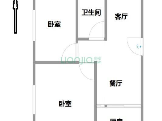 新福新村高层两房,总价低,带租约出售