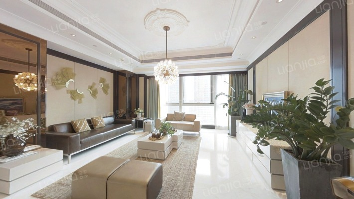 杭州高德置地广场 4室2厅 1060万
