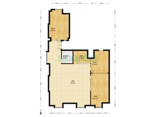 五华偶寓 3室2厅 南 西 北