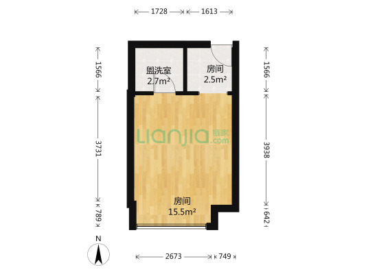 南港家园装修标间,带家具,家电出售