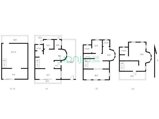 中信新城 5室2厅 南