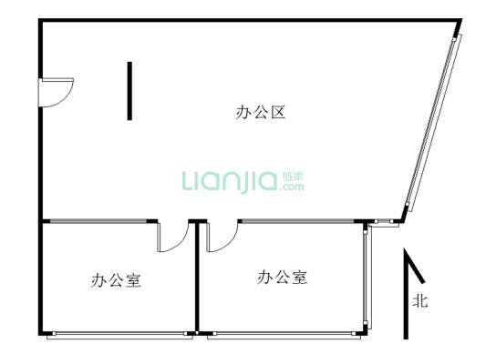 华仁国际大厦写字楼,配套齐全,交通便利, 个人产权