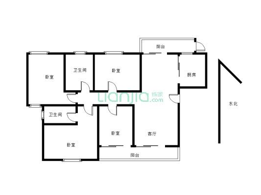 高楼层,视野好 采光好 户型方正 配套完善 益居家自住