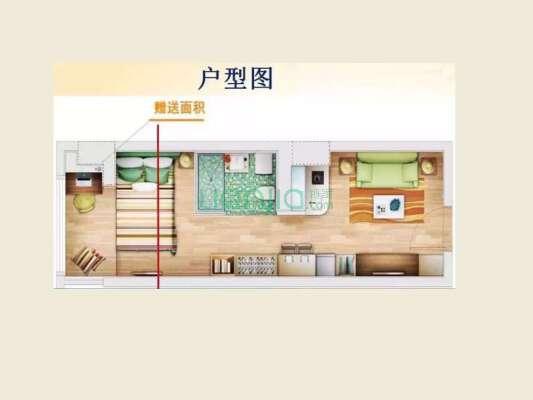 智慧广场一室一厅 精装修 近地铁口 万科物业