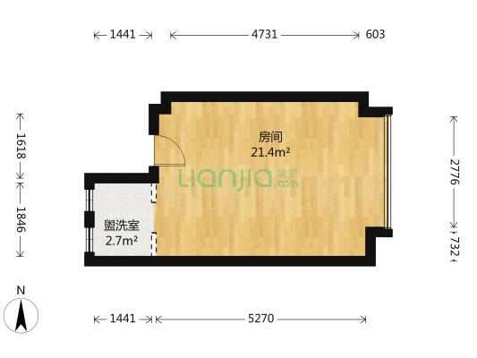 碧桂园高楼层 视线好交通便利 挑高4.2米,方正户型