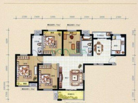 曲江一期精装四室、带车位、一、中、一、小、学、区